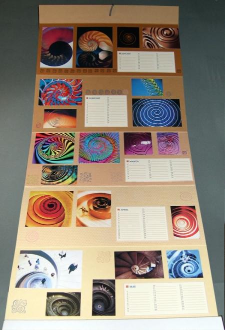 hand crafted calendar by Liane Sebastian